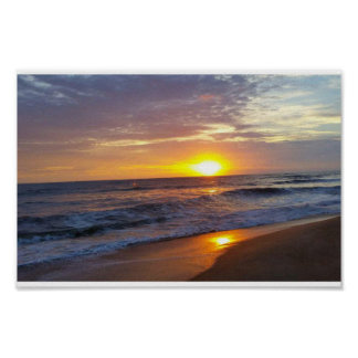 OBX sunrise Poster