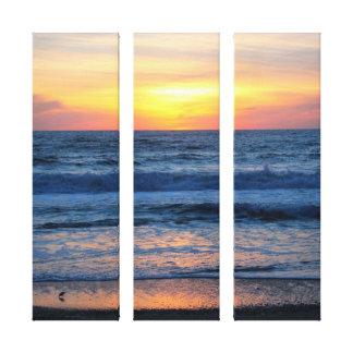 OBX Sunset Canvas