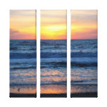 OBX Sunset Canvas Stretched Canvas Prints