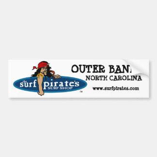 OBX Surf Shop Bumper Sticker