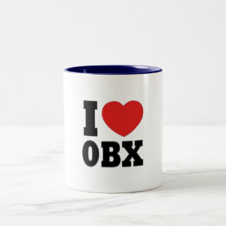 OBX Two-Tone COFFEE MUG