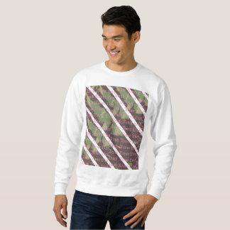 OCA Truth Never Lies Camo Stripe Crewneck Sweatshirt