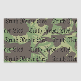 OCA Truth Never Lies Sticker