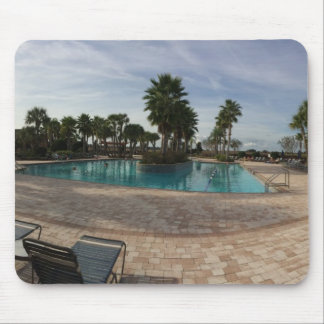 Ocala swimming pool mouse pad