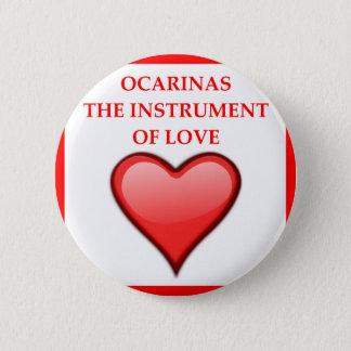 ocarina 2 inch round button