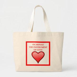 ocarina large tote bag