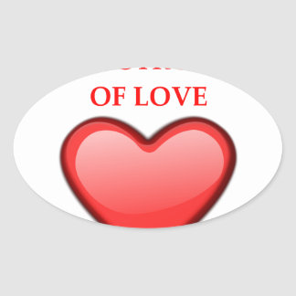 ocarina oval sticker