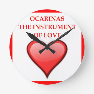 ocarina round clock