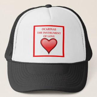 ocarina trucker hat