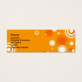 Occasional Spots Mini Business Card