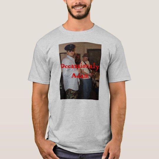 OCCASSIONALY ADAM shirt w/ website