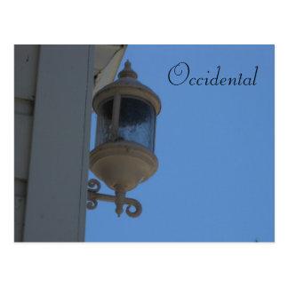 Occidental, Ca. Postcard