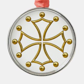 occitan cross metal ornament