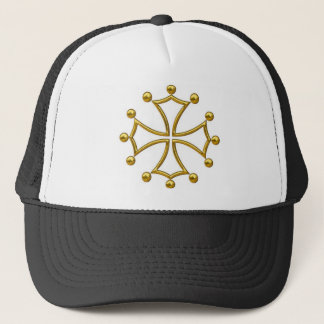 occitan cross trucker hat
