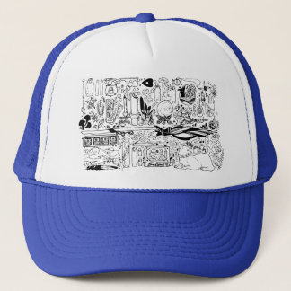 Occult and Magic Trucker Hat