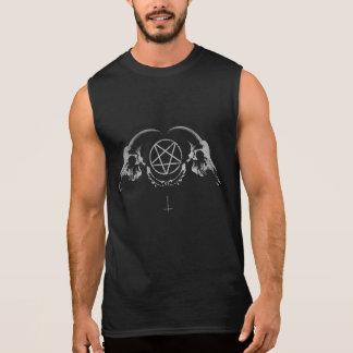 Occult Goat Skulls Sleeveless Shirt