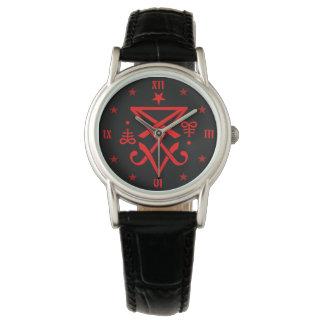 Occult Sigil of Lucifer Symbol Watch