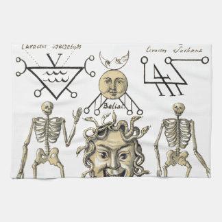 Occult Symbols Kitchen Towel