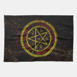 OCCULTIST UNION LOCAL 666    019 KITCHEN TOWELS