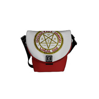 Occultist Union Local 666 Messenger Bags