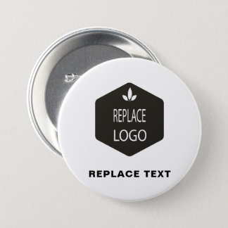 Occupation Replace ADD | Change | LOGO Branding 3 Inch Round Button