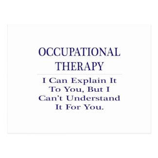 Occupational Therapist .. Explain Not Understand Postcard