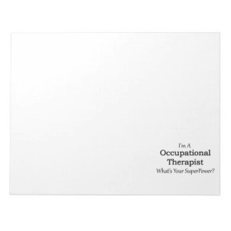 Occupational Therapist Notepad