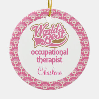 Occupational Therapist Personalized Gift Ornament