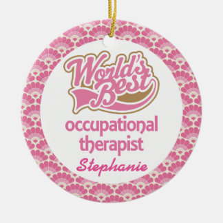 Occupational Therapist Personalized Ornament