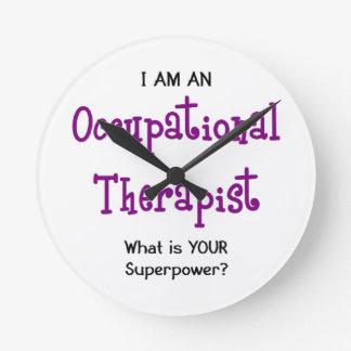 occupational therapist round clock