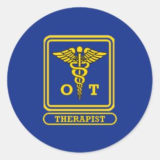 Occupational Therapist Round Sticker