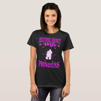 Occupational Therapist's Wife Princess Valentine T-Shirt