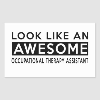 OCCUPATIONAL THERAPY ASSISTANT DESIGNS STICKER