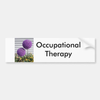 Occupational Therapy Bumper Sticker