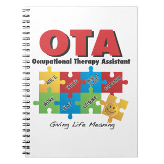 OccupationalTherapy Assistant Notebook