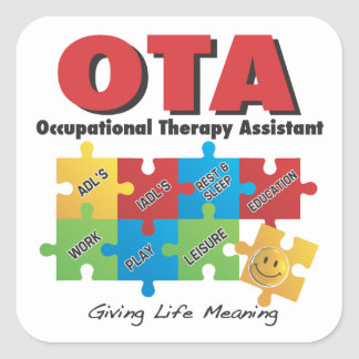 OccupationalTherapy Assistant STICKERS