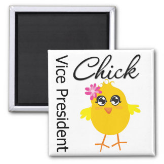 Occupations Chick Vice President Fridge Magnets