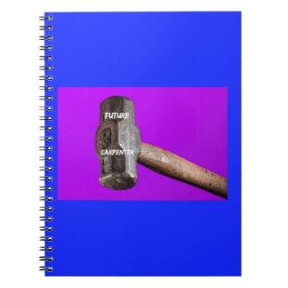 Occupations: Future Carpenter Sledgehammer Design Notebooks