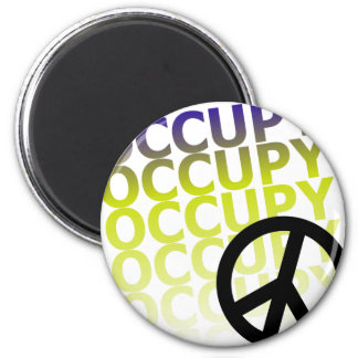OCCUPY58 2 INCH ROUND MAGNET