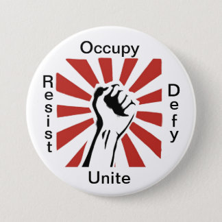 Occupy 3 Inch Round Button