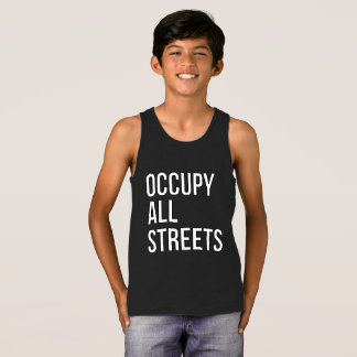 Occupy All Streets Tank Top
