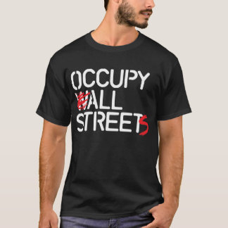 Occupy All Streets - White T-shirt