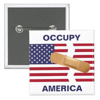 OCCUPY AMERICA PIN