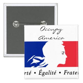 occupy america pins