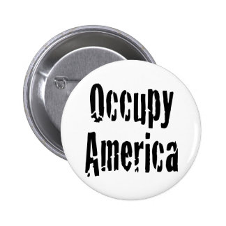 Occupy America Buttons