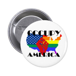 Occupy America - LGBTQ Buttons