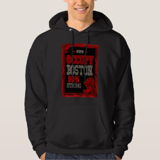 Occupy Boston OWS protest 99 percent strong poster Hoodie