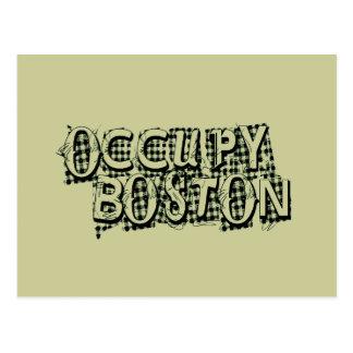 Occupy Boston Postcard
