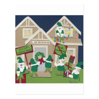 Occupy Christmas Postcard