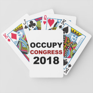 Occupy Congress 2018 Bicycle Playing Cards